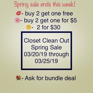 Dresses & Skirts - Spring Bundle Sale (Do Not Buy This Post)